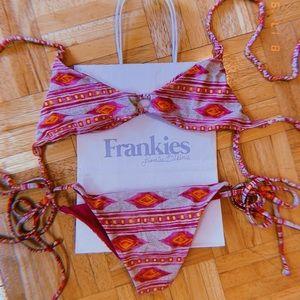 Frankie's Bikinis set NWT